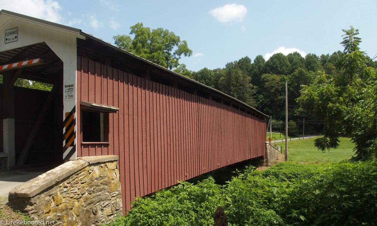 One of Lancaster County's 29 covered bridges.