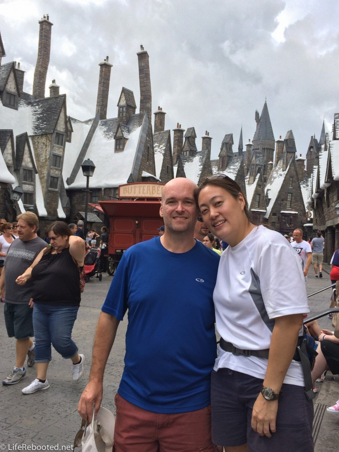 Welcome to Hogsmeade.