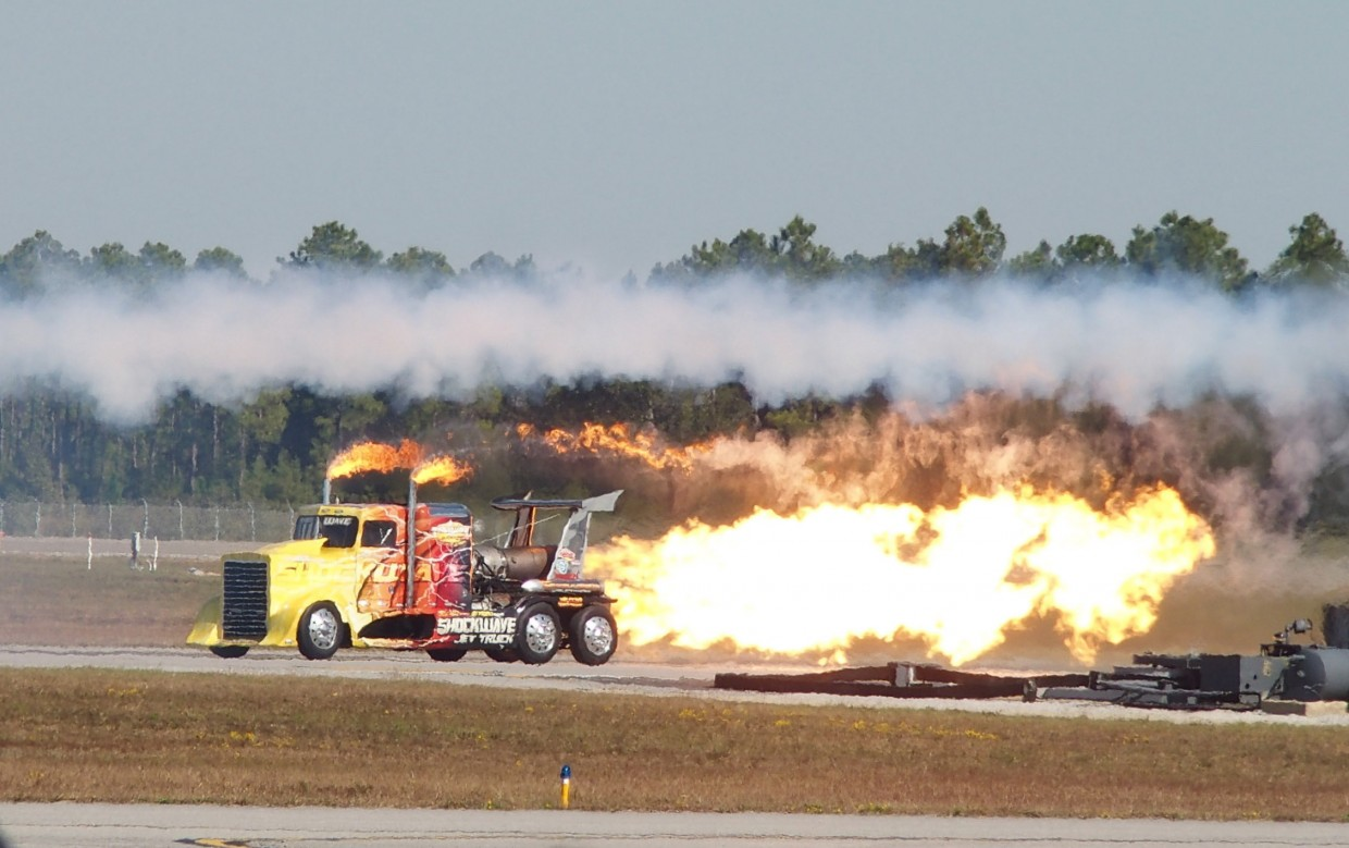 The ShockWave Jet Truck