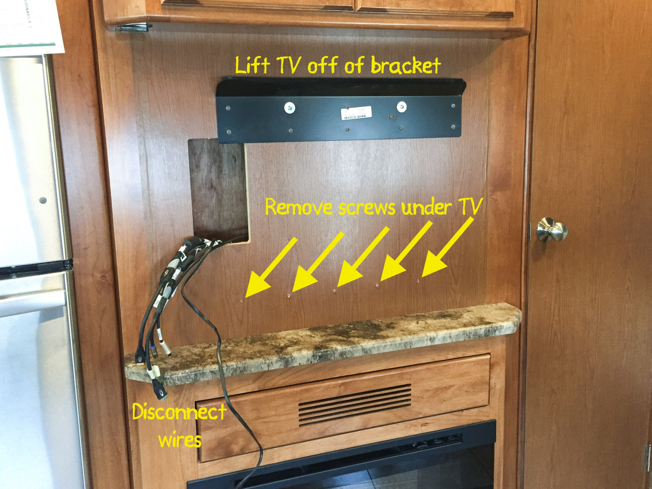 Life Rebooted Adding A Swiveling Tv Mount