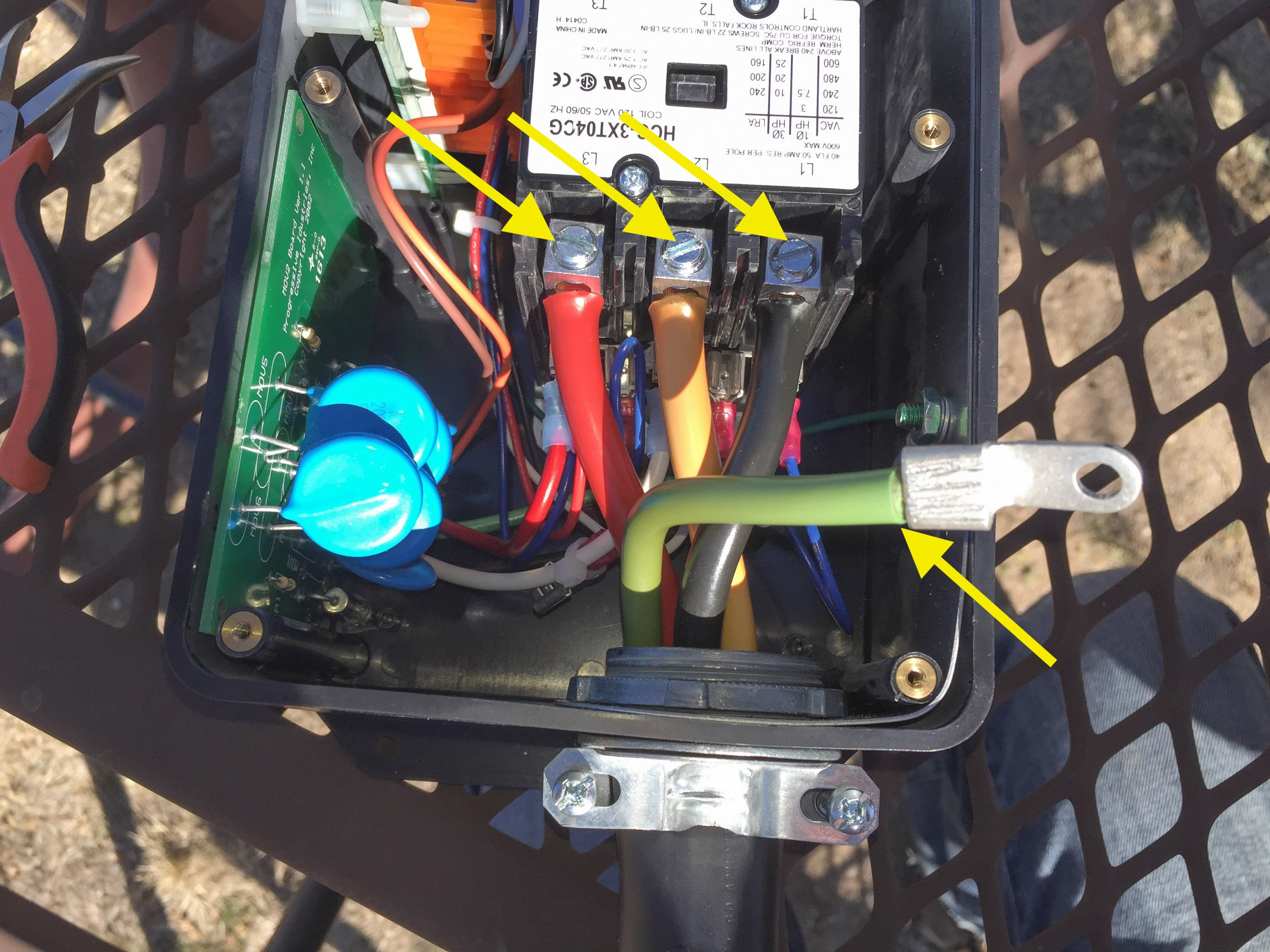 Life Rebooted Adding Rv Power Protection To Rover Extension Cord 30 Wiring Diagram On Amp 3 Pole 4 Wire 600v Connecting The Progressive Unit