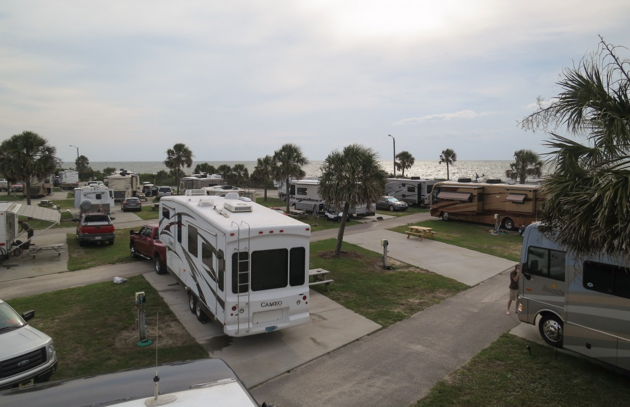 Ocean Lakes Family Campground, Myrtle Beach SC.