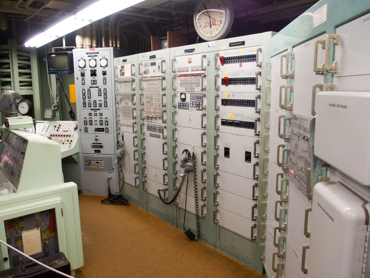 Monitoring, launch, and guidance systems, along with a rotary telephone.