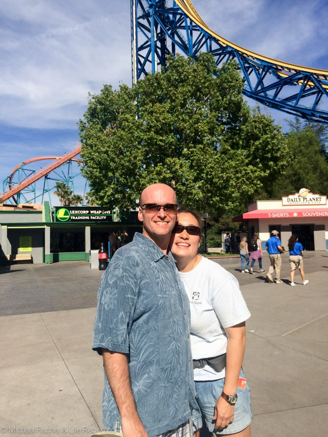We had a fantastic time at Magic Mountain!