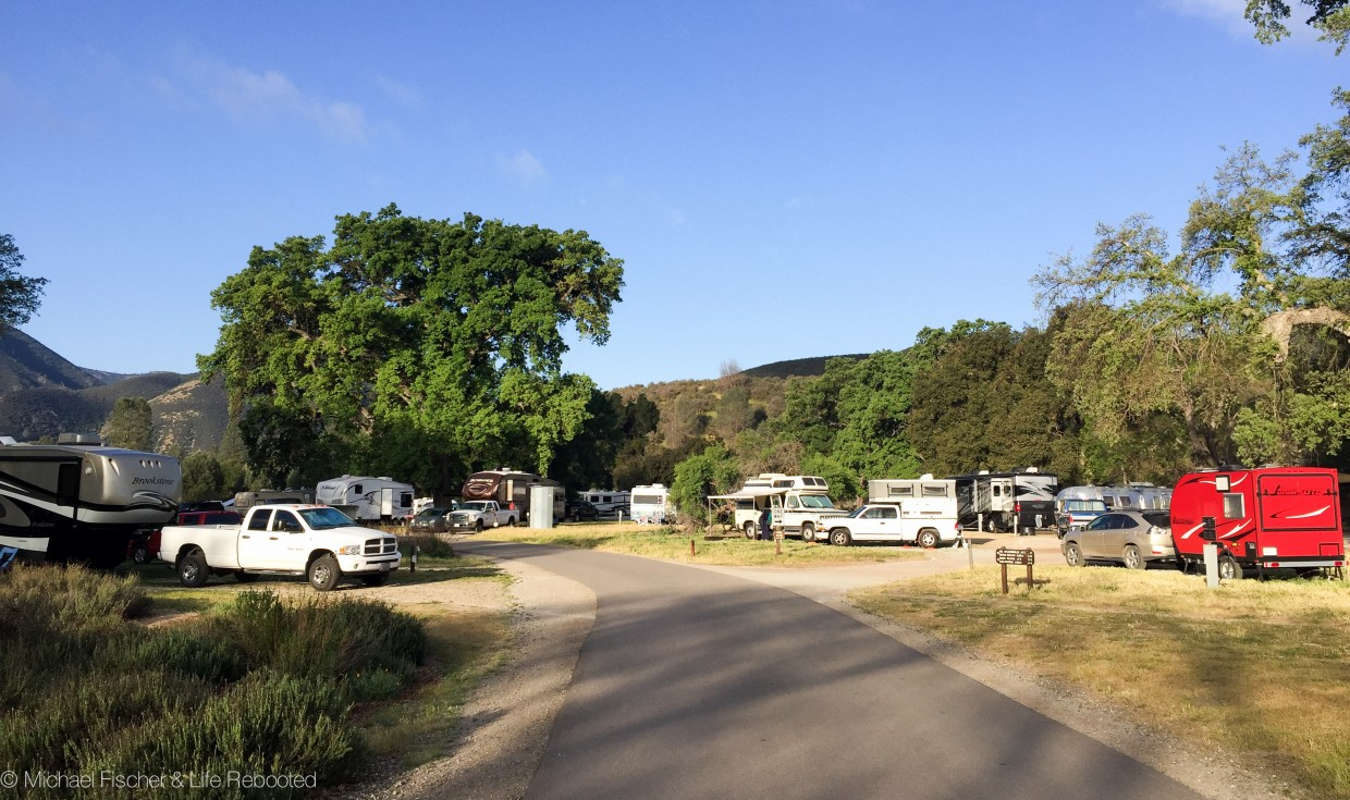 Pinnacles Campground---electric hookup sites