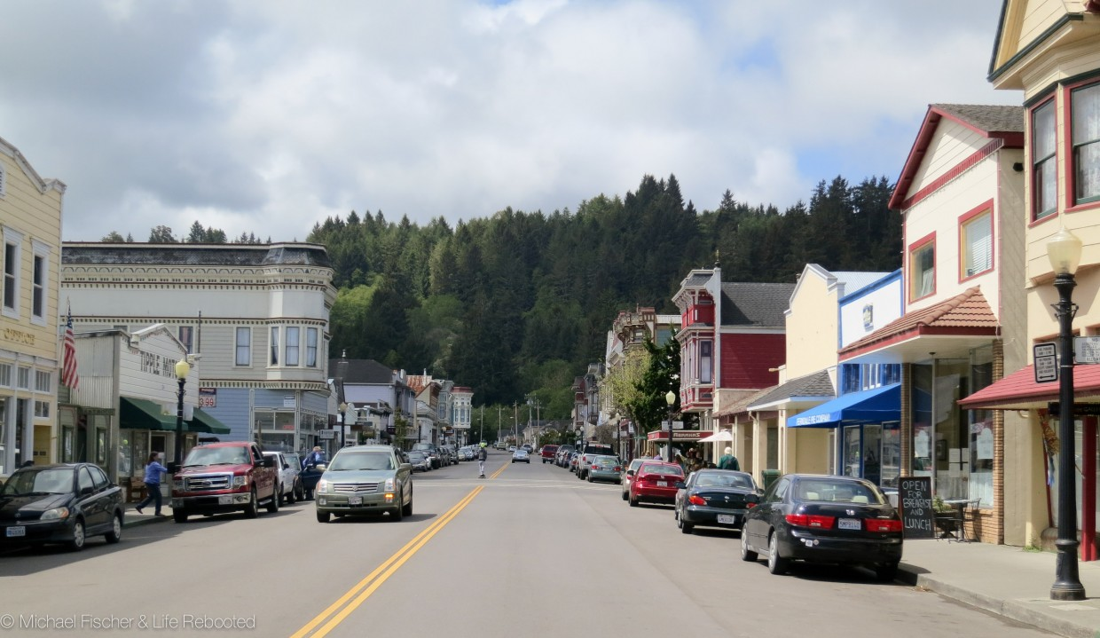 The town of Ferndale