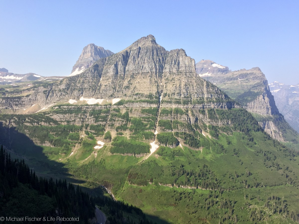 There isn't a bad view in Glacier National Park