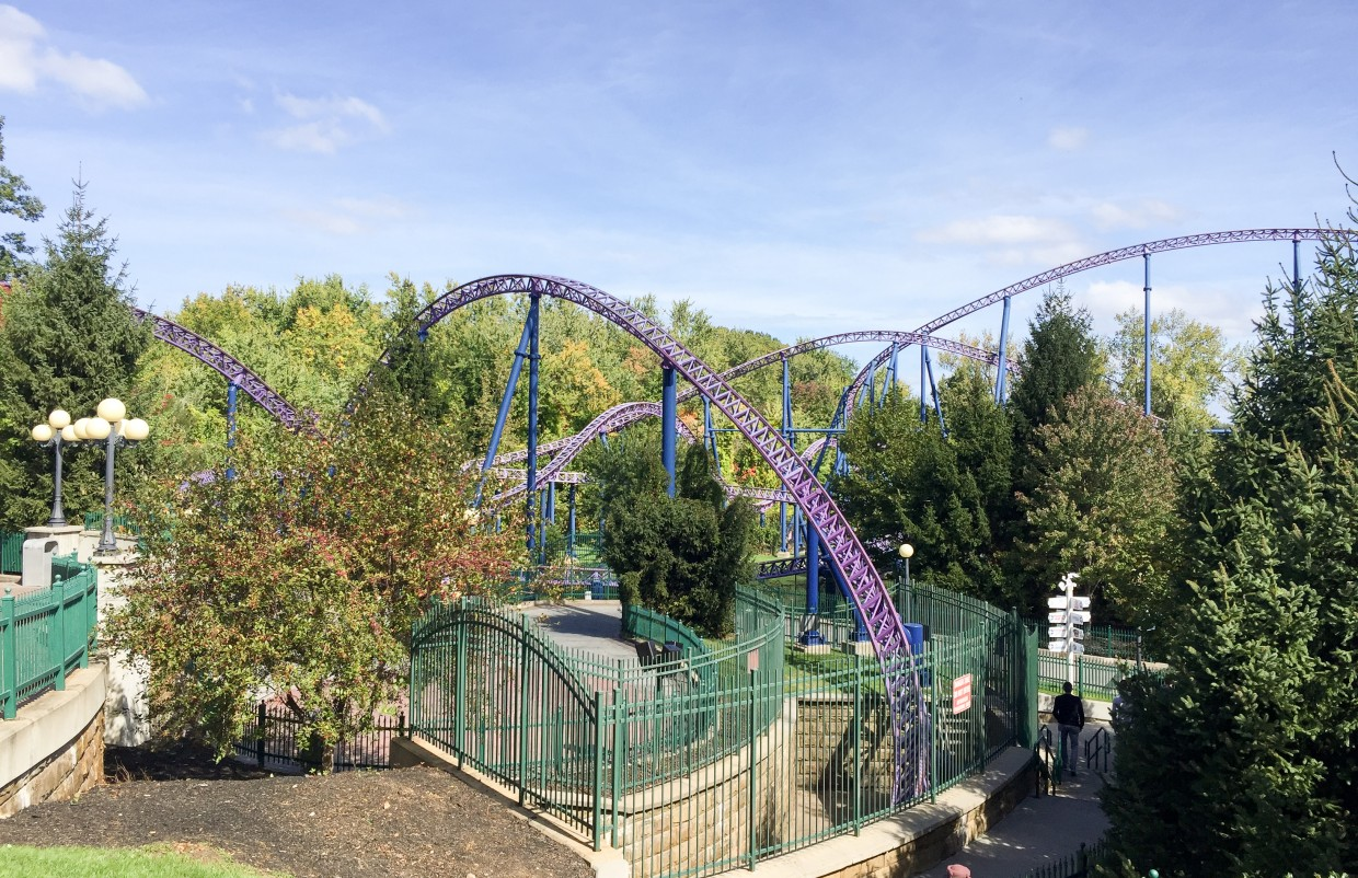 Bizarro at Six Flags New England.