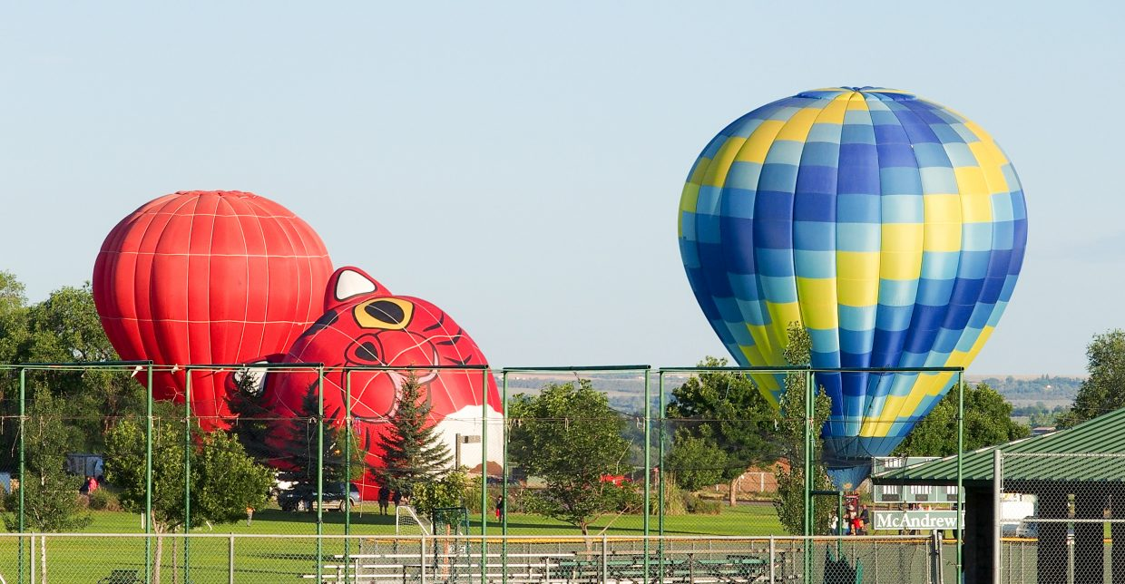 Watching the Cortez Balloon Festival get off the ground