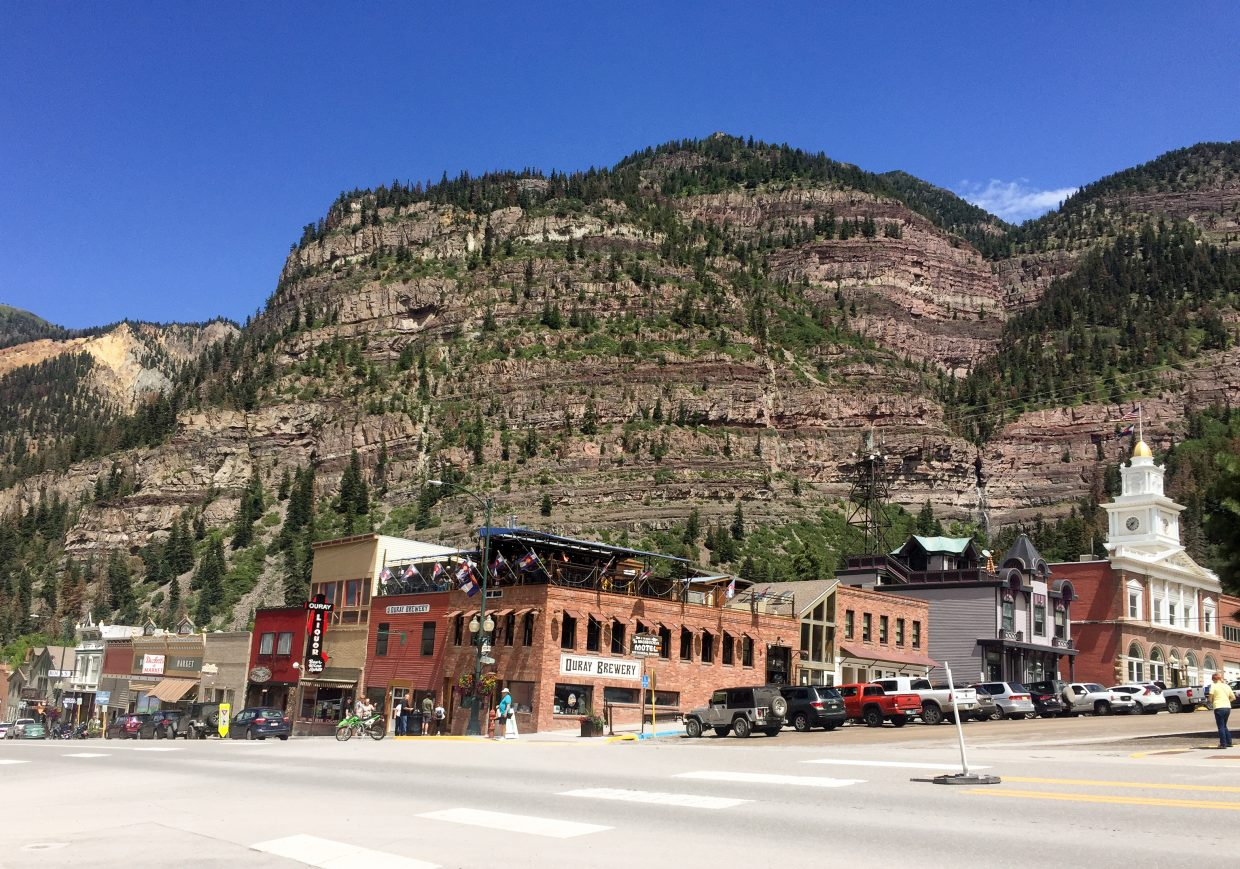 Downtown Ouray Colorado