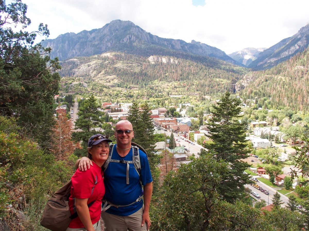Getting started on the Ouray Perimeter Trail