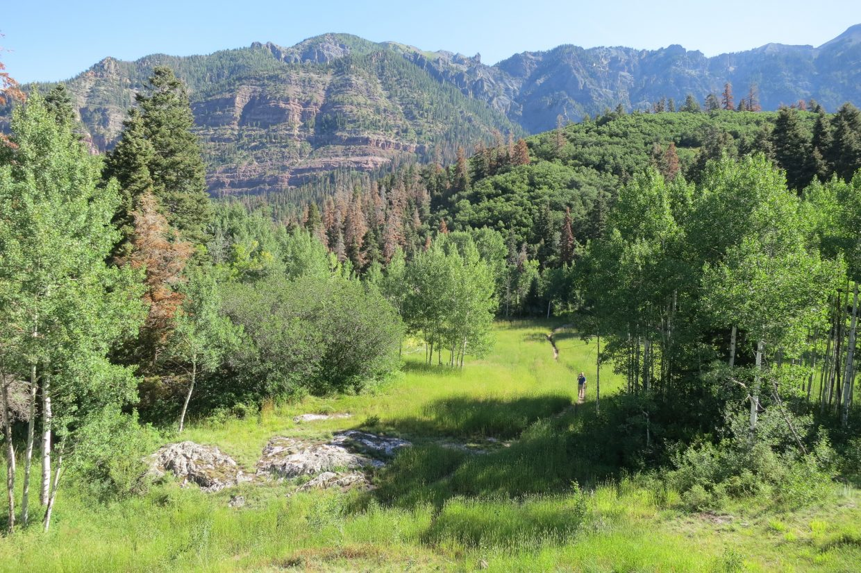 Back on the Ouray Perimeter Trail