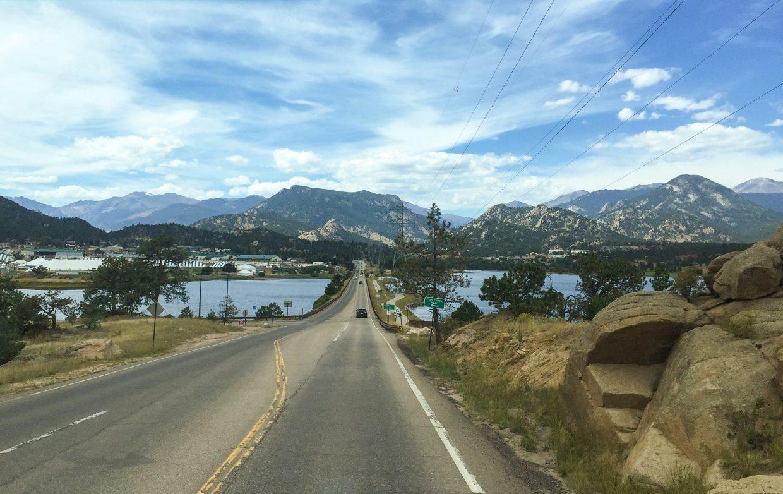 Approaching Estes Park CO