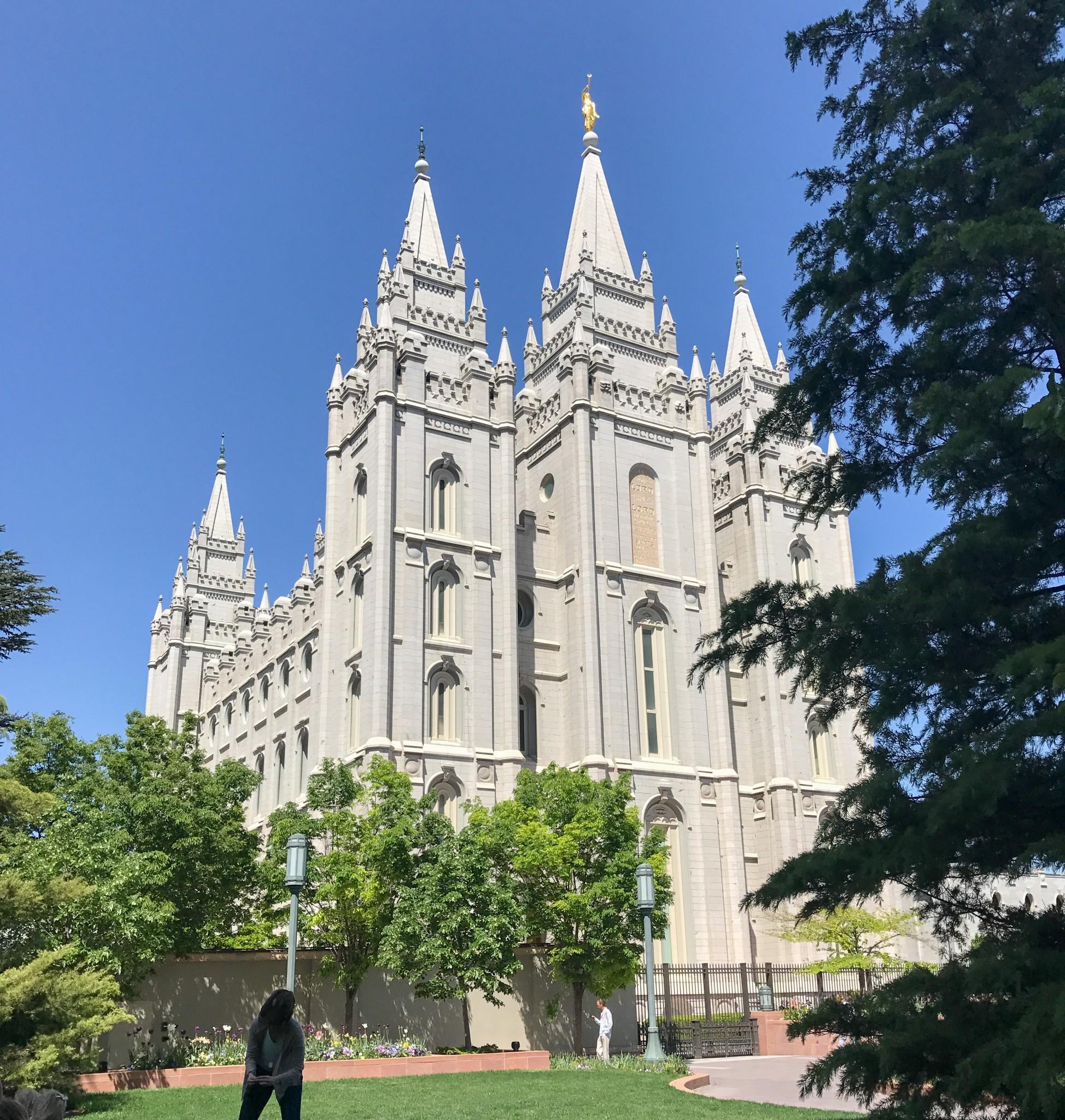 Downtown Salt Lake City Ut: Utah, It's May And Snow??