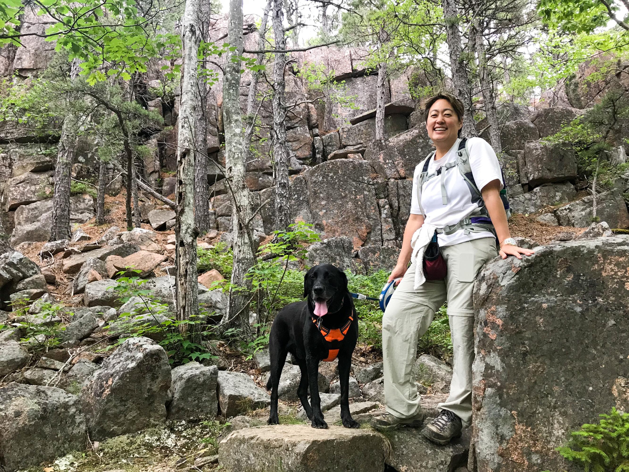 Life Rebooted – Dog hiking in Acadia
